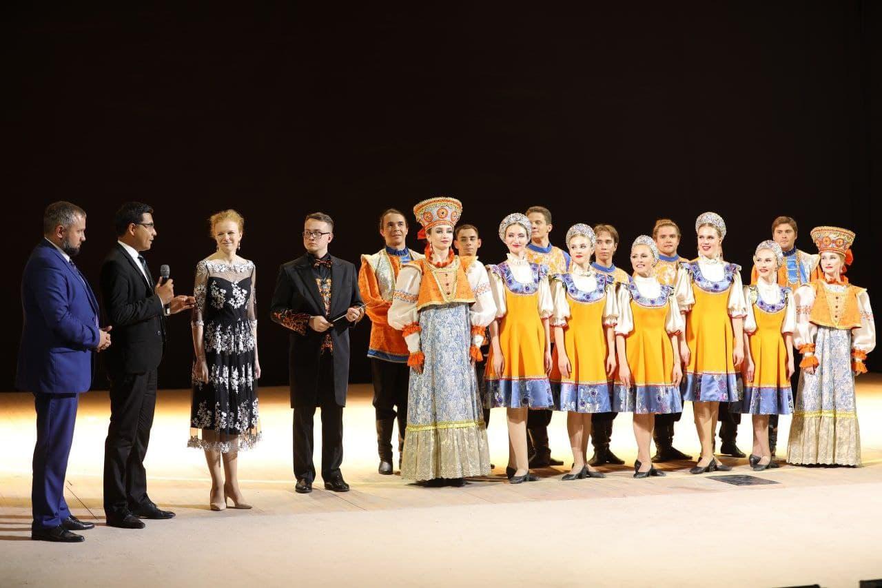 Sirdaryo viloyati drama teatri sahnasida «Maroshka»